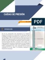 UNIDAD 3 CAIDAS DE PRESION