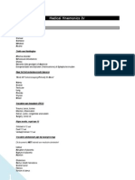 Medical Mnemonics IV