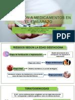 EXPOSICIÓN A MEDICAMENTOS EN EL EMBARAZO - DANIELA