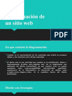 Diagramación de un sitio web
