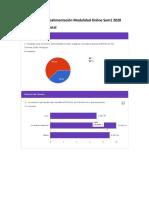 Encuesta Modalidad Online Sem1 2020