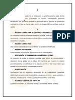 Glosario de Conceptos y terminología según la ASQ (Sociedad Americana de la Calidad)
