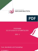 Aprendiendo a ser estomatólogo. Milagros Marcatinco España.pptx