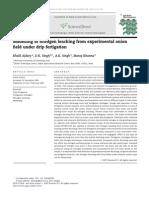 Modelling of nitrogen leaching from experimental onion field under drip fertigation