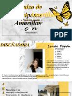 Portafolio paraiso de mariposas amarillas