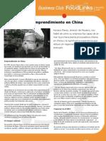 Resumen Business Club_Negociando y emprendiendo en china