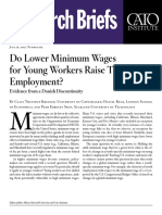 Do Lower Minimum Wages for Young Workers Raise Their Employment? Evidence from a Danish Discontinuity