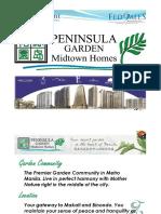 Peninsula Garden Midtown Homes Mahogany Tower (Tower B or Tower II)