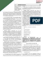 Resolucion 0332 2020 JNE [Aprueban El Reglamento Para La Fiscalizacion y Procedimiento]