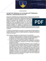 Lectura IoT industriales