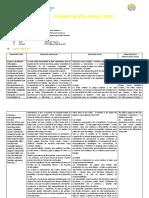 Planificación Anual 1A 2020