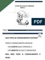 TIPOS DE CONHECIMENTO