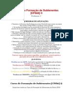 [DPH 2020] CFSbt - Curso de Formação de Subtenentes COM RESPOSTAS
