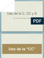 c - cc - s power point. Ortografía