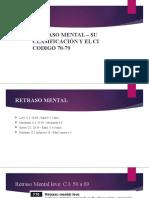 RETRASO MENTAL – SU CLASIFICACIÓN Y EL CI.pptx