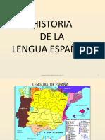 HISTORIA DE LA LENGUA ESPAÑOLA.pptx