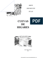 Breve descripción de las Cuevas de Higares