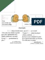Plansa Ortograme - Iau, I-Au