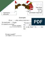 Plansa Ortograme - Va, V-A