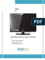 Marketing Strategy for Onida TV