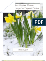 The Morrighanic Tradition Newsletter  ezine Imbolc Issue 2011  our first issue