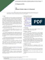 ASTM E1960-07 (2015) Cálculo del IFI