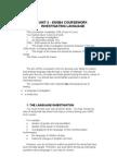 Course Work Guidance