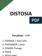 DISTOSIA