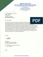 PBA citizen review board letter