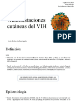 MANIFESTACIONES CUTANEAS DEL VIH