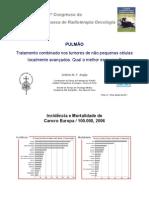 D113 Pulmão - Tratamento combinado nos tumores de não pequenas células localmente avançados