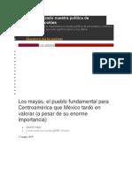 informe cultura maya
