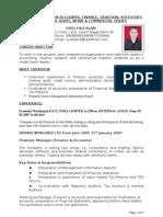 Faiz correct resume