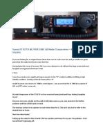 Yaesu FT 857D HF-VHf-UHF All Mode Transceiver