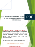 SIMULACRO DE ESCRITORIO