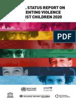 Global Status Report on Preventing Violence Against Children 2020