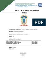 LA OFERTA Y ELASTICIDADES DE AVES