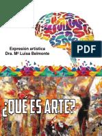 Primera clase - Expresión artística