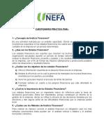 Analisis Estados Financieros  (cuestionario final)