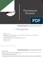 Presentacion Personal Johanny Gomez Espinal.pptx