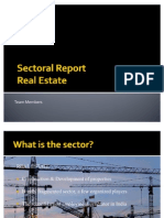 Sector Report- Real Estate
