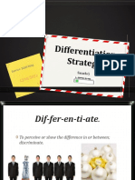 Differentiation Strategy in SERVICE MARKETING by  SARATH