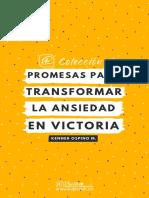 Promesas para transformar la ansiedad en victoria