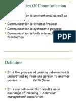 Communication CH 1