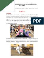 COSTUMBRES Y TRADICIONES DE LAS REGIONES DEL PERÚ