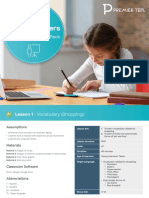 Teaching Young Learners Online Lesson Plan Pack, English Learners
