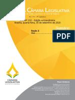 DCL nº 232, de 30 de setembro de 2020 - Edição Extraordinária