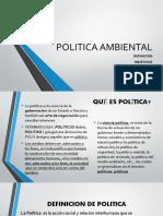 Presentacion 3_Politica Ambiental 2017