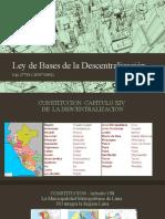 Presentacion 7 Leyes Descentralización y Regional
