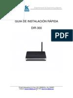 Guia de Instalacion Rapida DIR-300